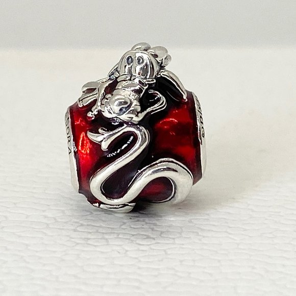 Pandora Disney Mulan Mushu Charm Bead #798632C01